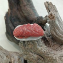 Anello in argento e corallo